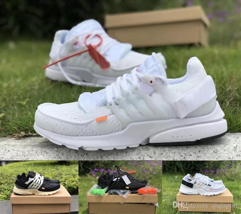 2020 Triple air respirable noir design V2 presto Hommes Chaussures de course BR mode Sport Femmes de marche Chaussures de sport de jogging des chaussures