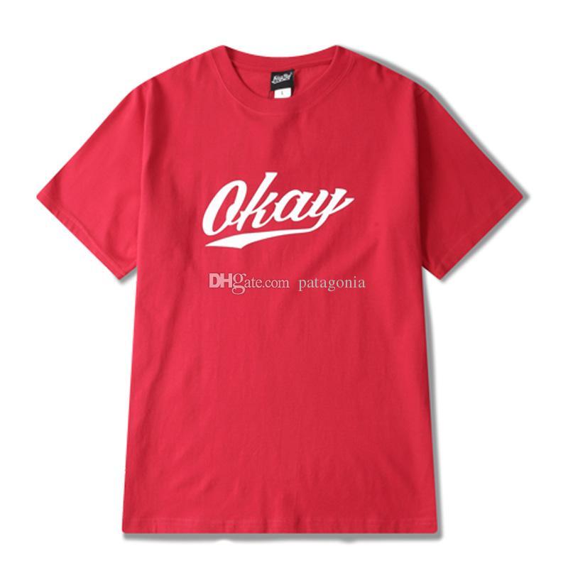 Estate Mens T-shirt Hip Hop Mens magliette casuale comodo maniche corte Donne Uomini formato S-3XL