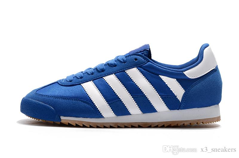 adidas dragon bleu rose