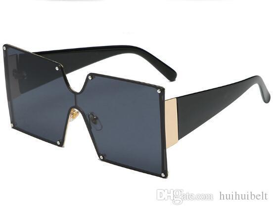 Nuova vita bassa della moda occhiali da sole europei ed americani di vendita diretta uomini e donne occhiali quadrati di fabbrica di uno degli occhiali da sole lenti