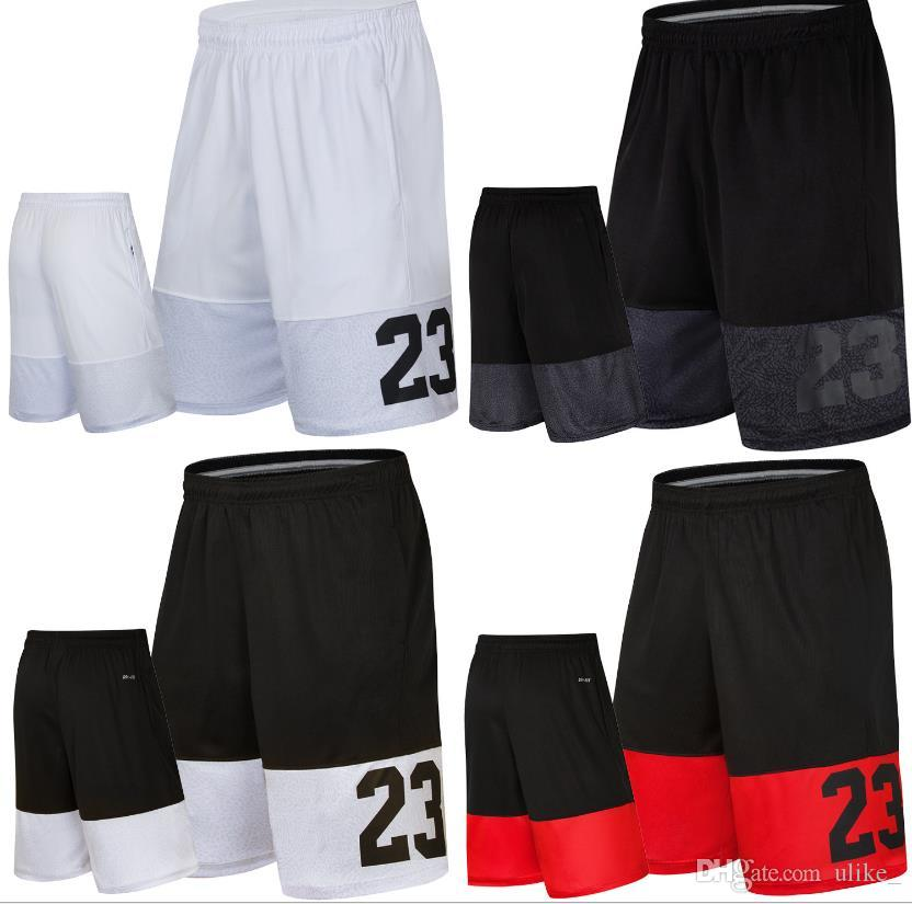 Pantaloncini da basket No.23 Pantaloncini da spiaggia larghi Pantaloncini sportivi da allenamento da palestra Pantaloni corti da uomo asciutti