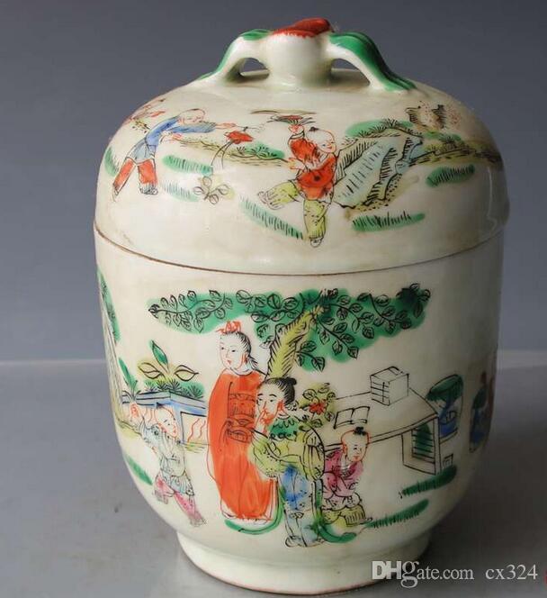 Antico antique nuova collezione ornamenti decorazione della casa carattere pastello lattine da tè porcellana jingdezhen ceramica xmnrj