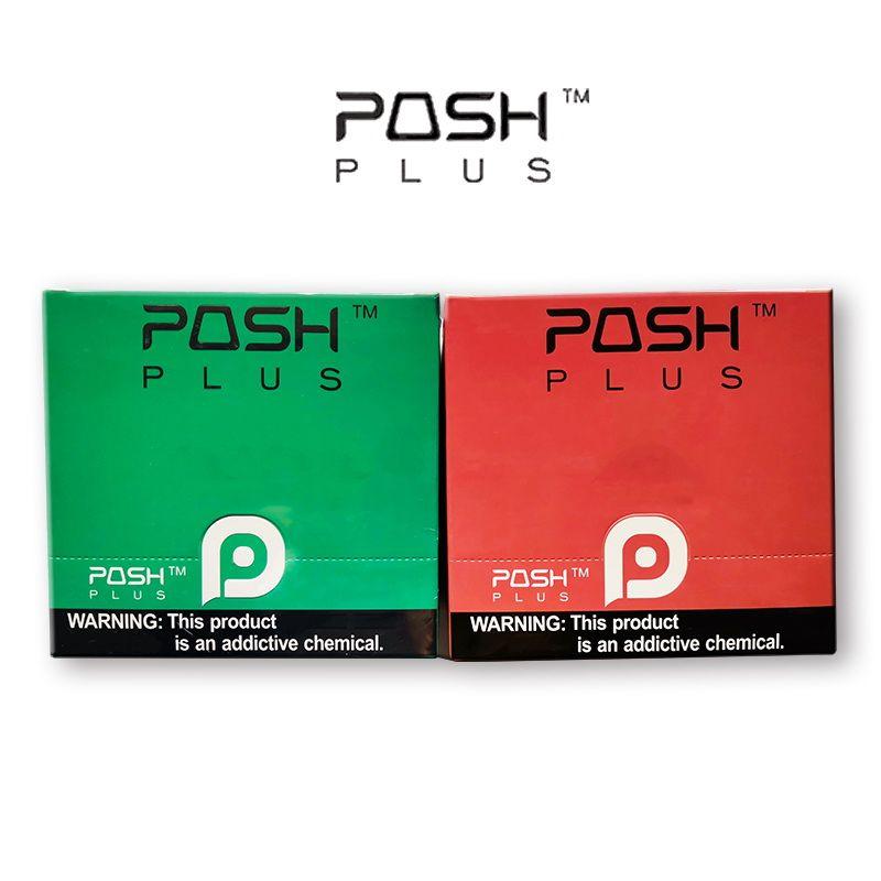 Pod Posh Upgraded plus jetable Kit batterie avec 2,0ml VIDE La cartouche périphérique Kit jetable pods Vape
