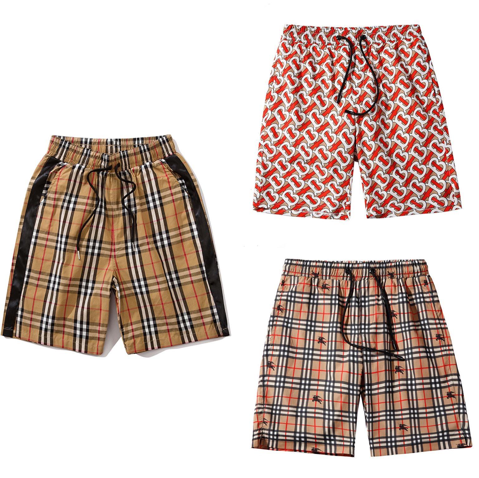 Mens Designer de Verão Shorts Pants Moda 3 Estilo impresso cordão Shorts 2019 Descontraído Homme Luxo Europa e América Sweatpants