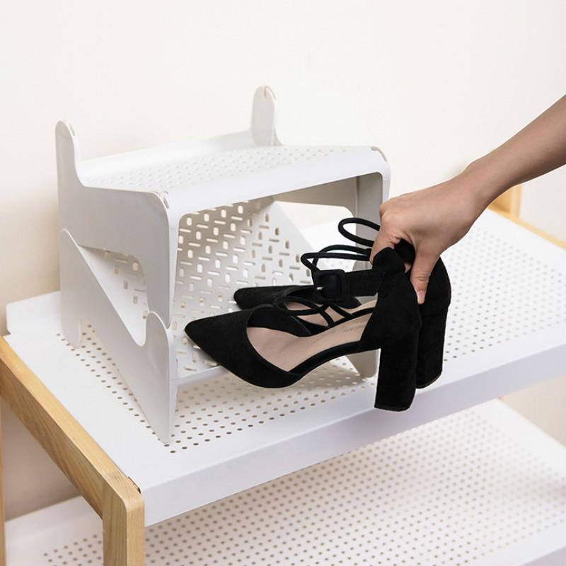 Home shoe multi-layer bracket dust-proof storage rack space-saving slippers stand YHJ031002