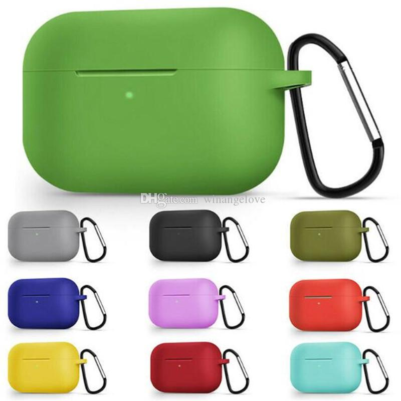2020 For Airpods Pro Case Candy Colors Business Portable Silicone