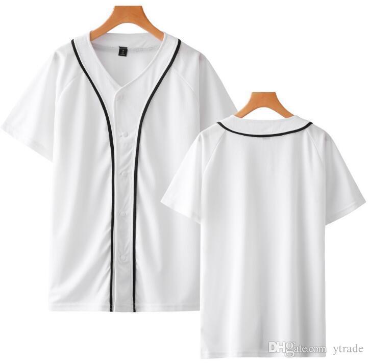 DIY camisetas de béisbol de encargo de los hombres de las mujeres jóvenes cualquier nombre de cualquier número 005