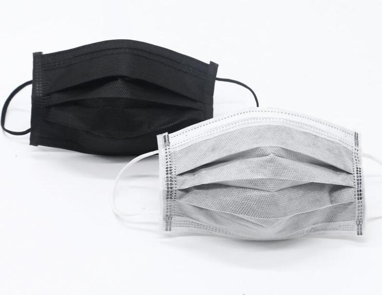 Zng0 Protectivertification Teslim Atılan Sivil Maskeler; Toz Ve Inenza Dayanıklı Yüz Maske Beyaz Açık Emniyet Sinto Sel Siyah Siyah