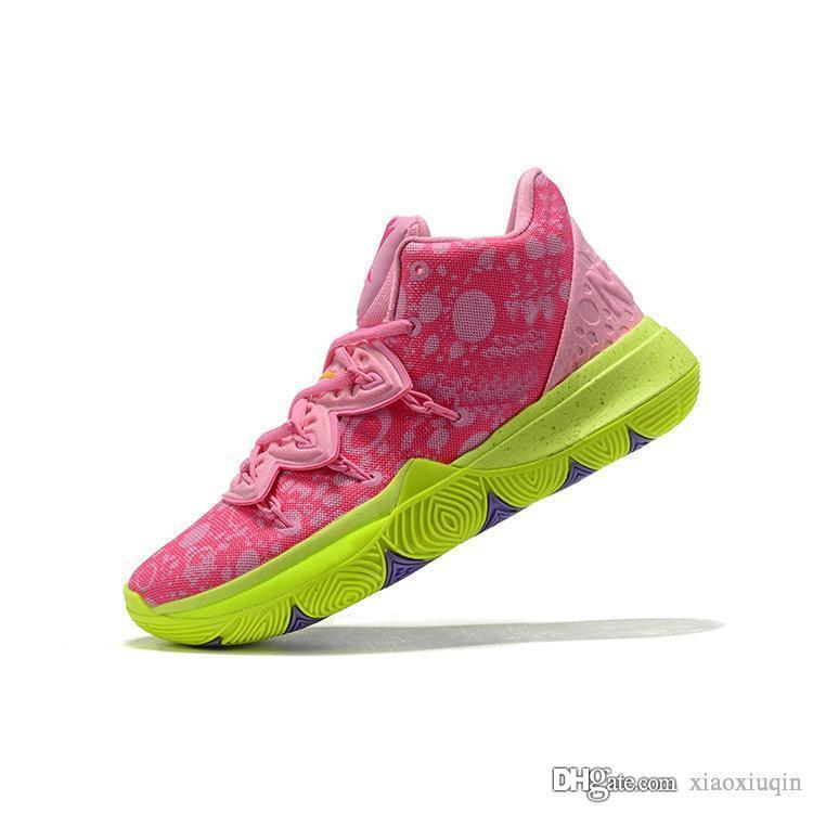 2020 Mens Kyrie 5 Basketball Shoes Pink