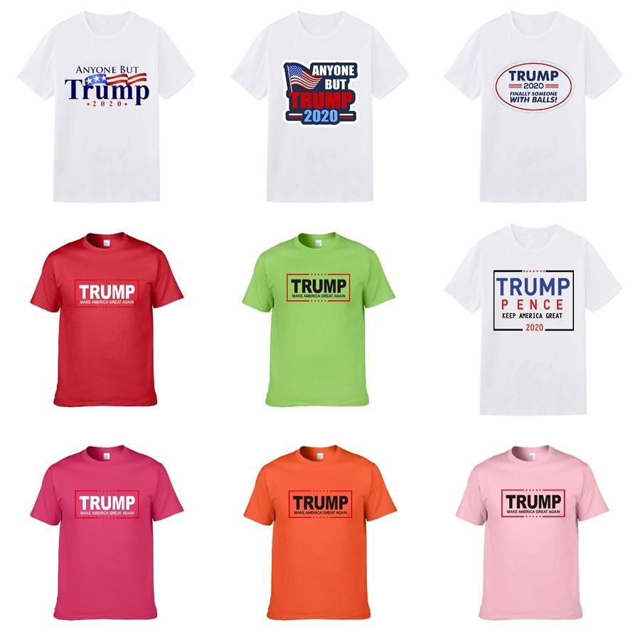 LuxuxMens Designer Trump T Shirts Männer Frauen Hip Hop-Sommer-T-Shirt mit Rundhalsausschnitt 3D Printed Designer Shirt Größe S-XXL # 134