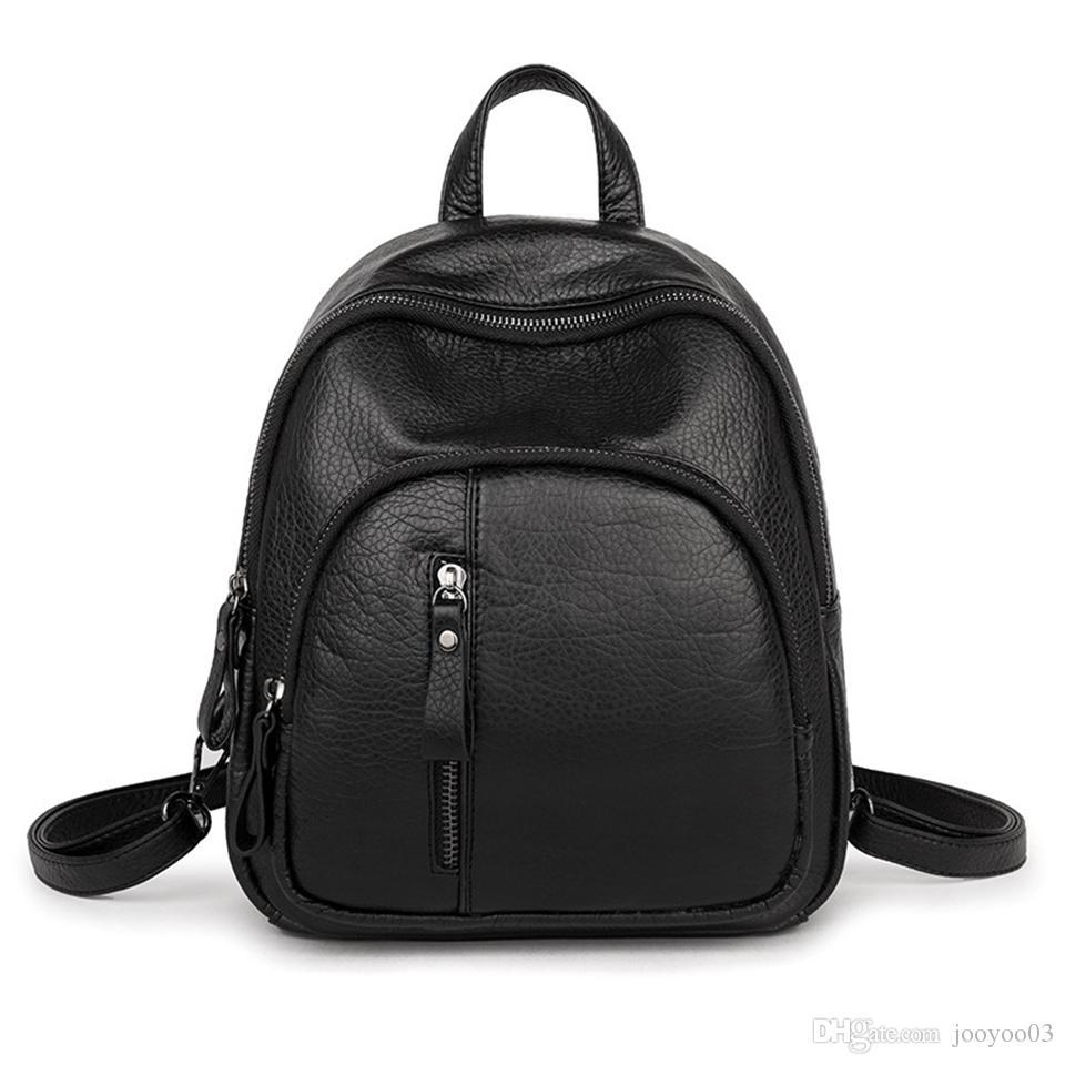 Nuova borsa a tracolla femminile Moda selvaggia PU casual in pelle resistente all'usura Outdoor Zaino da viaggio Borse Shopping traspirante Trend borsa a tracolla