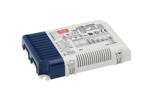 2 x Meanwell 40W 350-1050mA tek çıkış LED Driver- LCM-40DA