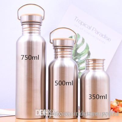 Stainless Steel Water Bottle Vacuum Thermos  Flask Porable Sport Outdoor Bottle