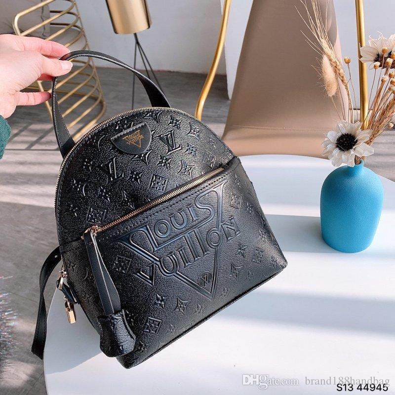TOP PU 높은 품질의 유럽 남성 가방 유명한 핸드백 캔버스 가방 여성의 학교 가방 L을 배낭 스타일 가방 브랜드 디자이너