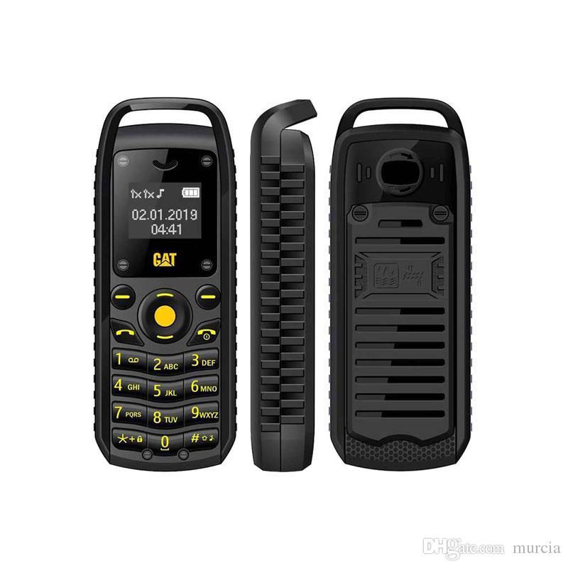 Super Mini 0.66 Pollici 2G Cellulare B25 Auricolare Bluetooth senza fili Auricolare a mani libere Cellulare sbloccato Doppia SIM Card 2019 NUOVO arrivo