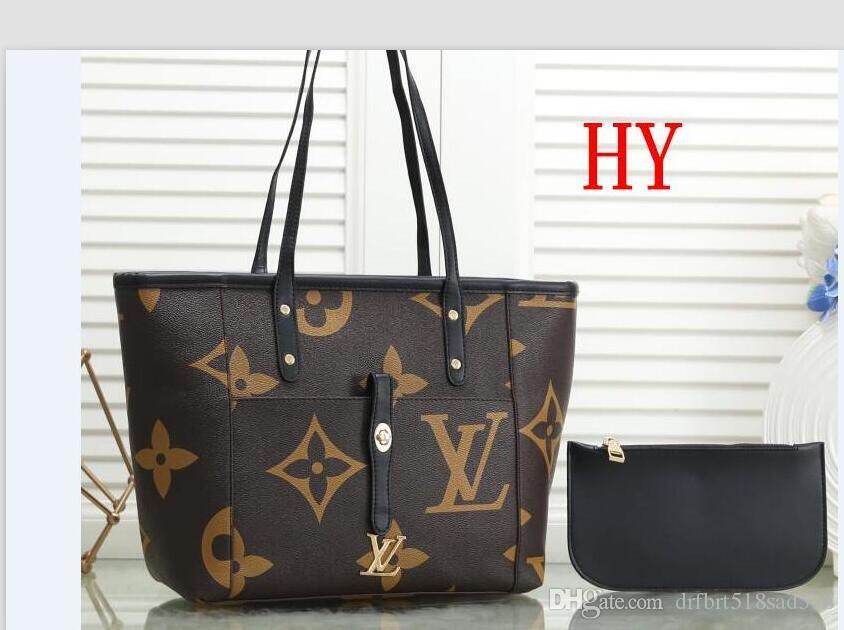 2020 borse di lusso per le donne signore grande progettista del cuoio Bucket Bag Marca PU borsa grande capienza Top-maniglia Borse 012