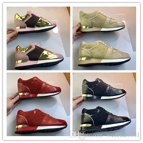 2020 lumière luxe Designser Casual Sneaker Chaussures Hommes et femmes en cuir Formateurs Outsole Arche Lumière Marche Robe xsmk01 Sneakers Chaussures