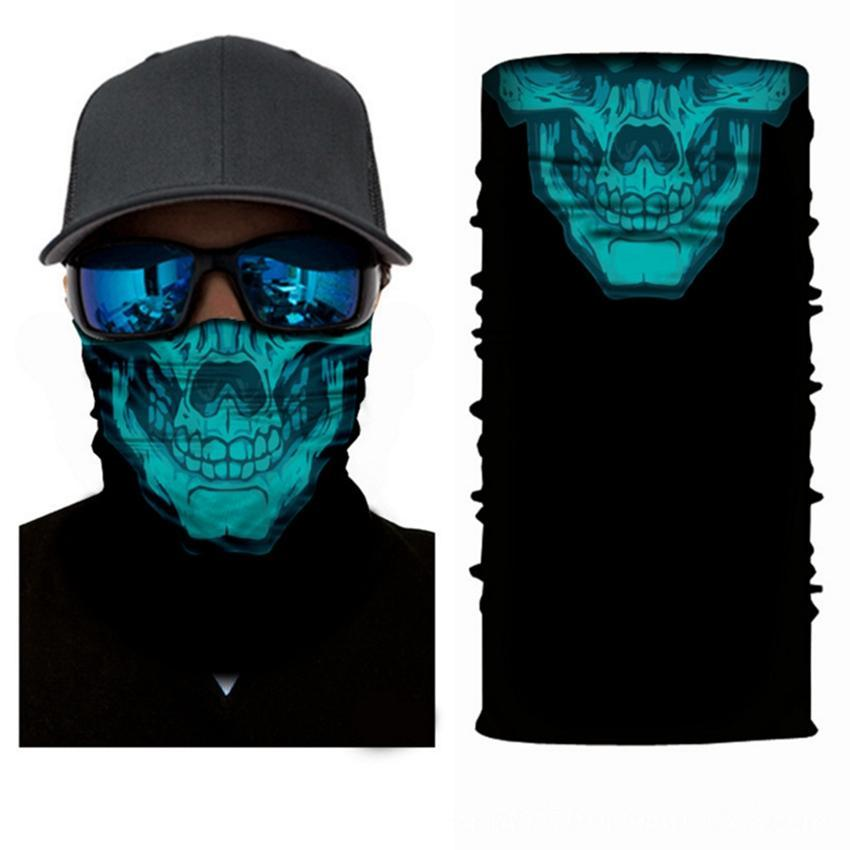 Headband Scarf Hip-hop Bandanas Head Scarf Scarves Vintage Pocket Towel Magic Neck Outdoor Skull Cycling Bandana face mask KKA7822