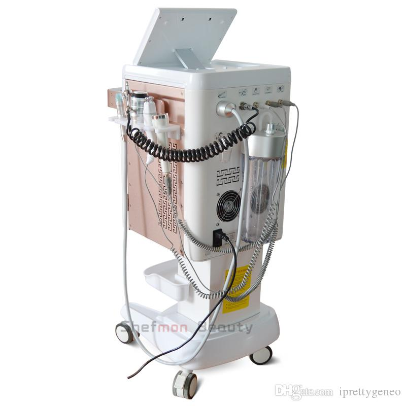 The Best price Aqua Facial Oxygen Spray Gun Hydro Peel Ultrasonic Cold Hot Massage RF Lift Hydrafacial Beauty Machine On Sale