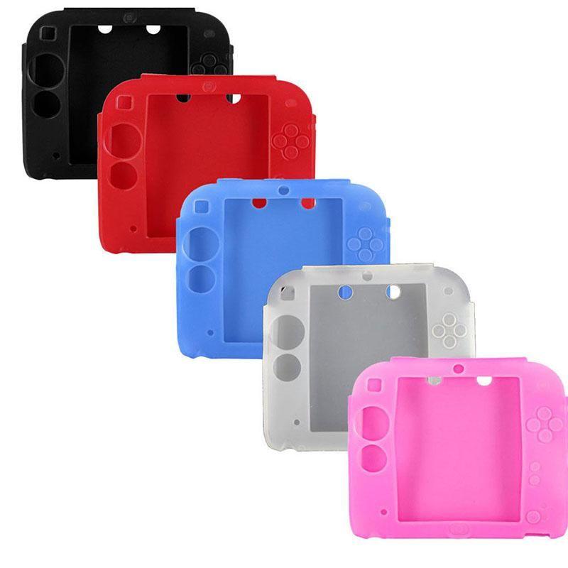 Etui souple en silicone pour Nintendo 2DS de protection anti-choc Housse souple gel de silice Nd 2DS Console de jeux