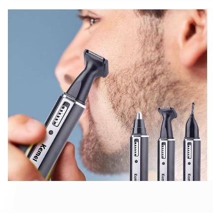 4 في 1 قابلة للشحن الأنف الرجال الكهربائية الأذن الشعر المتقلب ألم المرأة وتقليم الحواجب سوالف قطع اللحية قص الشعر آلة الحلاقة