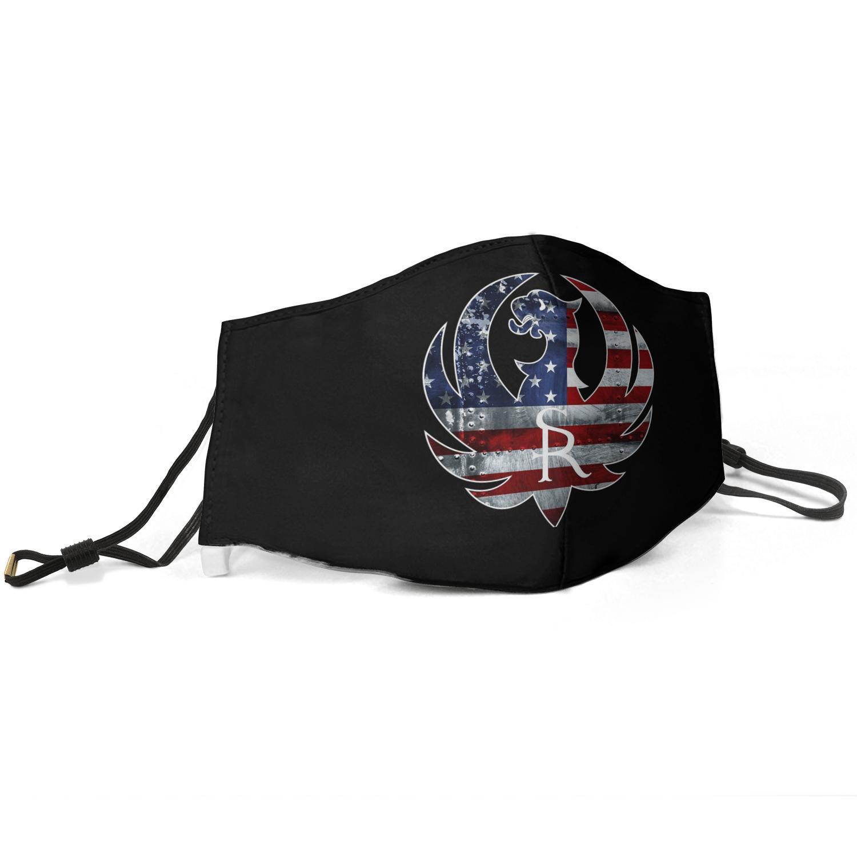 Sturm Ruger logo-U- unisex maschera antipolvere regolabile maschera di guida della macchina muffola