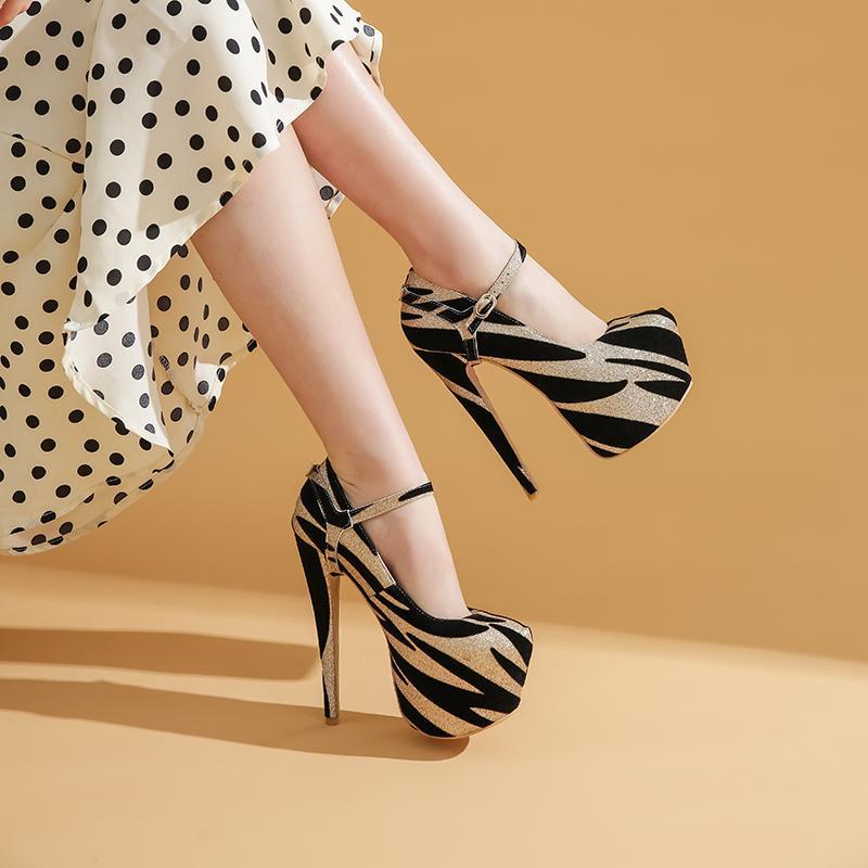 Büyük Beden 33-43 Seksi Düğün Kadınlar Fetiş Ayakkabı Yüksek Topuk Striptizci Flock 16 cm Zapatos Mujer Pompalar