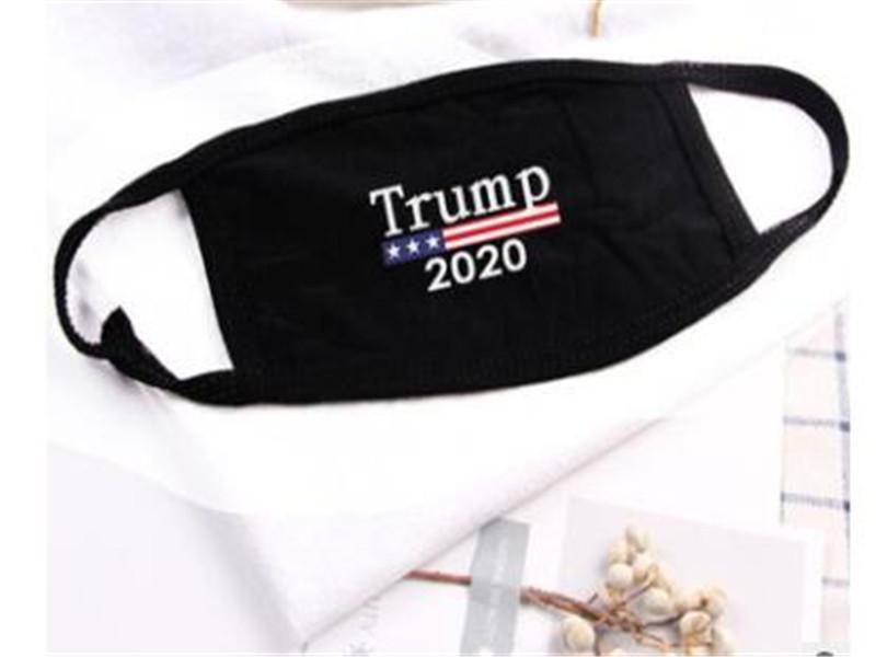 دونالد ترامب وجه 2020 قناع الوجه الفم قناع مضحك الأزياء المضادة للغبار القطن USA المرأة للرجال أزياء للجنسين الرياح دليل قابل للغسل 5 أنماط قناع