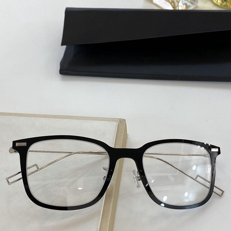 Newarrival Superlight D-PEAR02 الكبير Squarerim للجنسين النظارات الإطار 52-20-150 بلانك fullrim + سليم غير القابل للصدأ سلك للوصفة طبية حالة fullrim