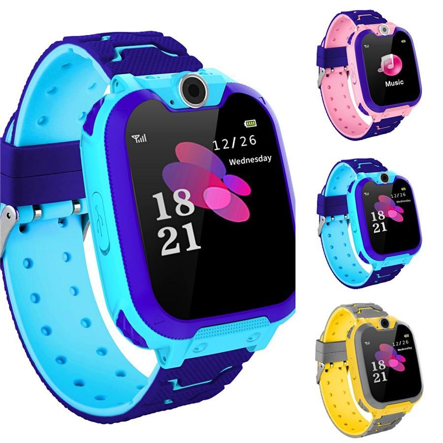 Moda Rapazes Raparigas Crianças Crianças Estudantes Esporte Digital Led Watches New Mens Womens Touch Screen Rubber presente Silicone Relógios # 345