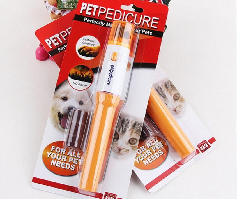 Chatière électrique coupe-ongles Nail Polisseuse Accessoires Cat Dog Pet Griffe Nail Toilettage Toilettage électrique Kit manucure Pet outil gratuit bateau