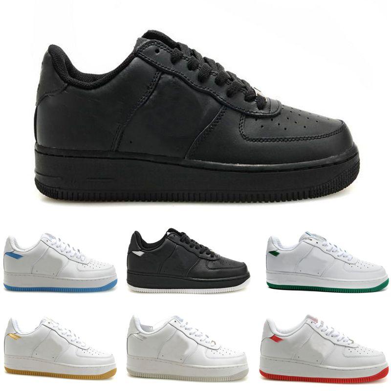 one af1 2019 CUT LOW All black, All White Trainingsschuhe Herren Damen Lover Sport Skate Sneaker Trainingsschuhe