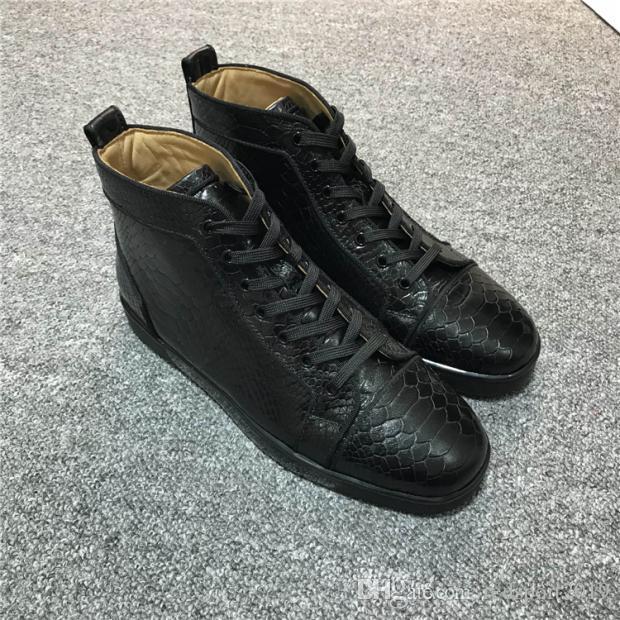 Ücretsiz Kargo Kırmızı Dipleri Sneakers Ayakkabı Erkekler Rahat Kadınlar için Lüks Erkek Açık Havada Unisex Marka Parti Elbise, rahat Tasarımcı ayakkabı