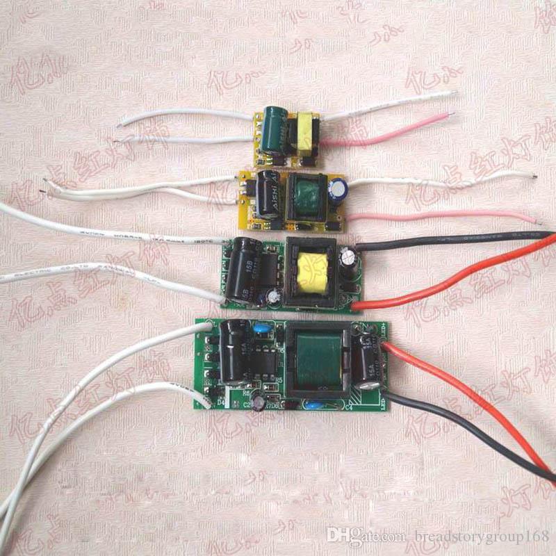 الصمام سائق ثابت الحالي المحولات العارية مجلس ضوء LED كوب E27 برغي التيار الكهربائي للمصابيح LED عالية الطاقة