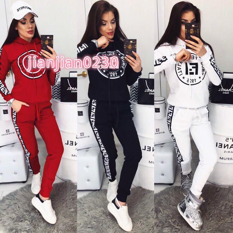 2020 mujeres ropa deportiva de moda casual caliente de la venta de gama alta de la mujer transfronterizos europeos y americanos wp02823