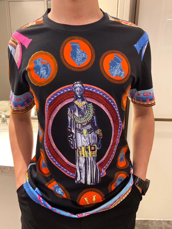 T-shirt dames en vrac T-shirt des hommes t-shirts imprimés impératrice et les femmes à manches courtes mode T-shirt 2020 nouvelle TOPS QQ3 hommes