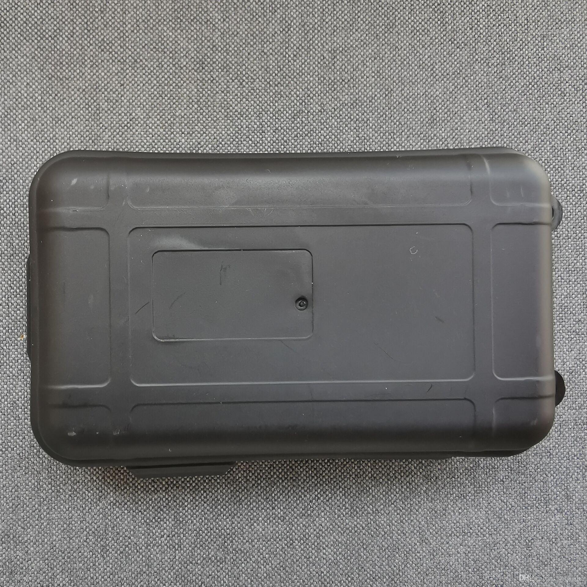 Slickgate caixa plástica para EDC campismo faca facas de bolso Caso