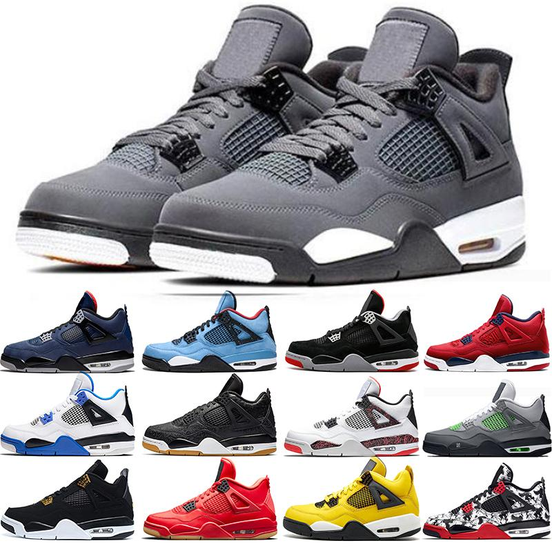 2020 01 4 Cool Grey 4s Men Basketball