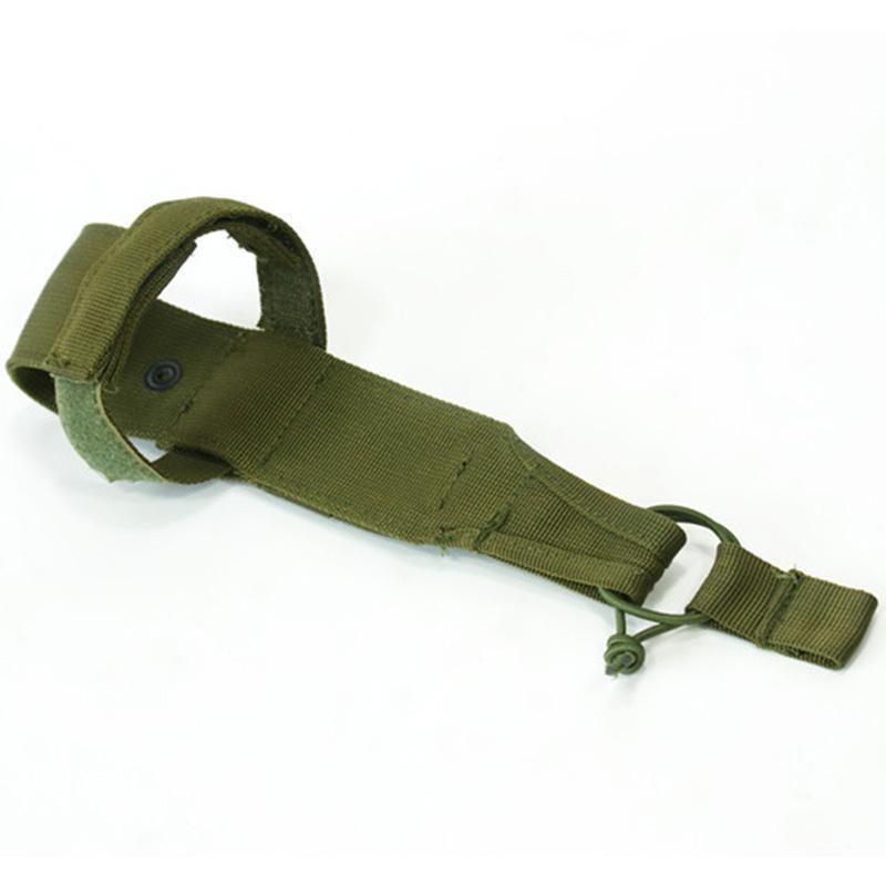 Hiking Water Bottle Holder Carabiner Buckle Nylon Molle Webbing backpack Hook