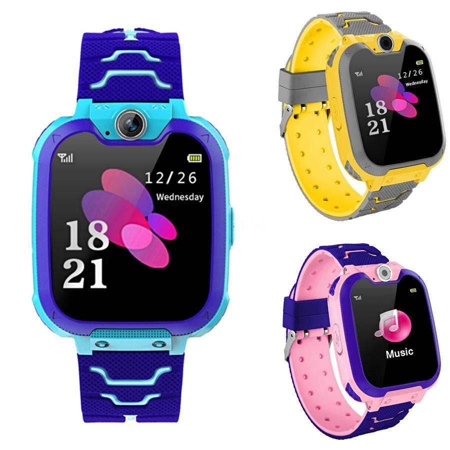 Moda Rapazes Raparigas Crianças Crianças Estudantes Esporte Digital Led Watches New Mens Womens Touch Screen Rubber presente Silicone Relógios # 570