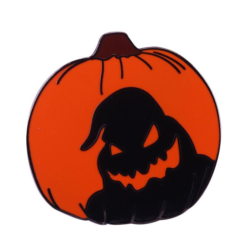 Nightmare before Christmas hard enamel pin monster Oogie Boogie brooch jack O' lantern badge Halloween accessory