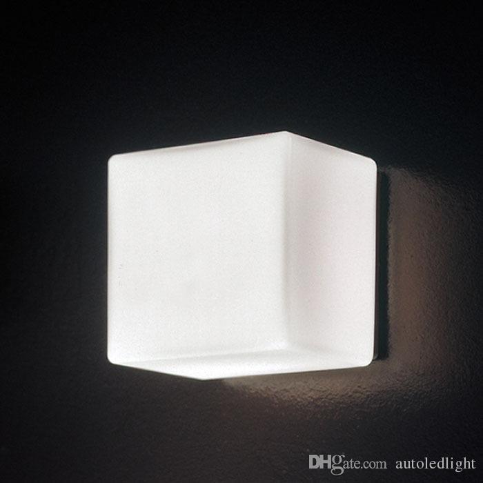 LED Wall Glass Lamps White Ice Cube Background Light KTV/Bar/Room Brick Lamp