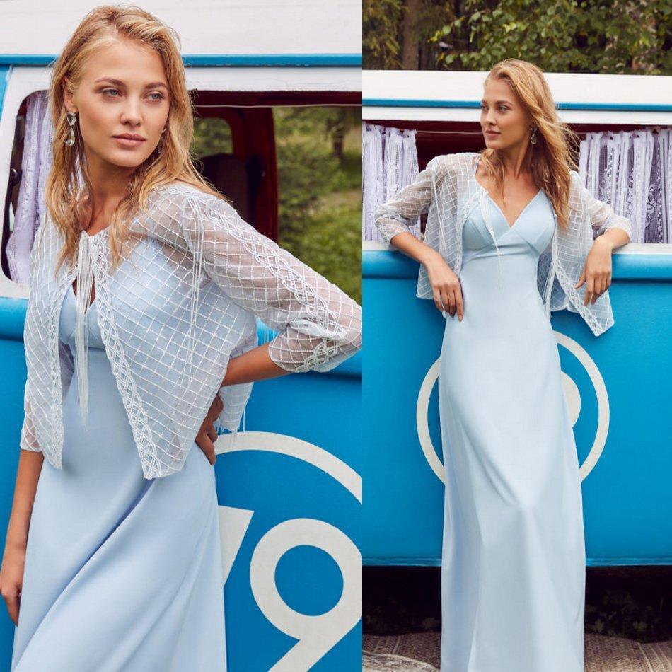Julie Vino 2020 dei vestiti da sera con il rivestimento in pizzo raso guaina Prom Gowns Piano Lunghezza usura del partito abito speciale occasione