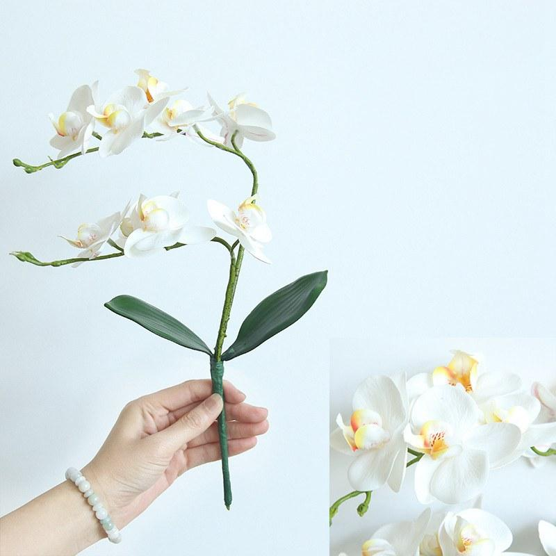 2020 2019 Hot Sale Real Touch Home Decor Artificial Phalaenopsis Orchid Flower Arrangement Small Bonsai Plants With Ceramic Flower From Rosequeenflower 2 77 Dhgate Com