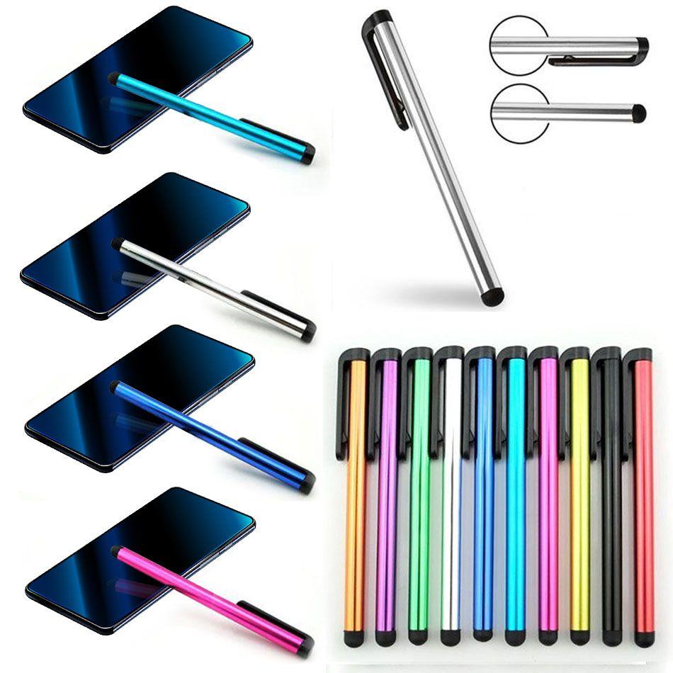 Capacitiva lápiz óptico de pantalla táctil óptico para iPad para el iPhone para Samsung Tablet PC con un bolso de OPP