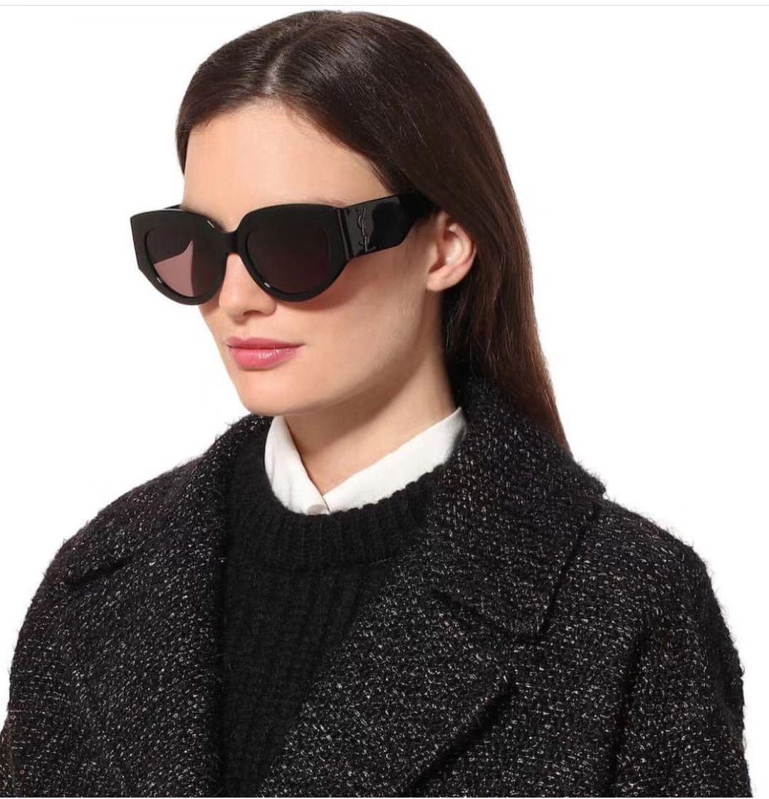Top-Qualität Marken-Art- und Männer Frauen Oval Sonnenbrille klassische Marken-Designer-Sonnenbrille Sommer-Sonnenbrille mit ursprünglichem Kasten