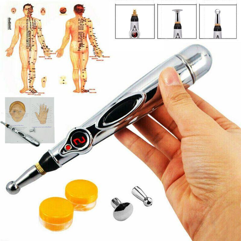 Nouvelle électronique Acupuncture Meridian Body Massager énergie Pen Soulagement de la douleur Thérapie du corps Relaxation Soins de santé