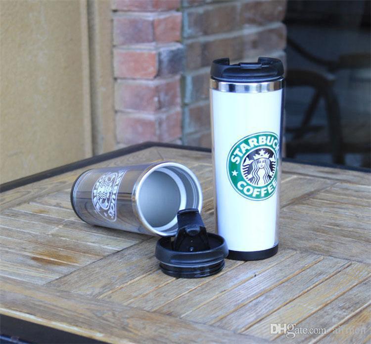 14 oz Starbucks Tasses Styles Tasse En Acier Inoxydable Tasse À Café Flexible Tasse Thé Tasses À Café Tasses À Thé Tasses À Vin