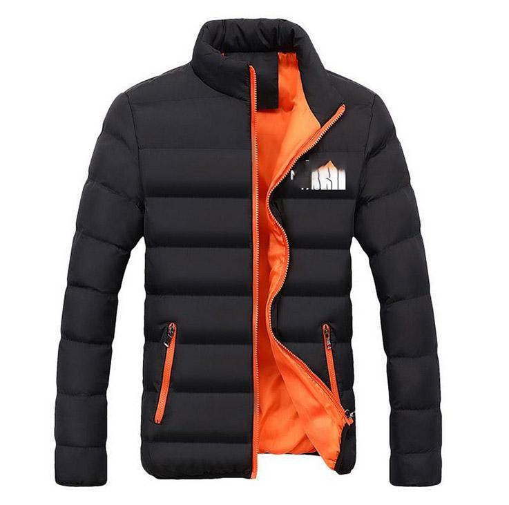2020 Yeni Kış Erkek Pamuk Palto Tasarımcı Siyah İnce Facenorth Ceketler Plus Size Erkekler Parkas Moda 7EA Açık Coat Kalın Dış Giyim yazdır