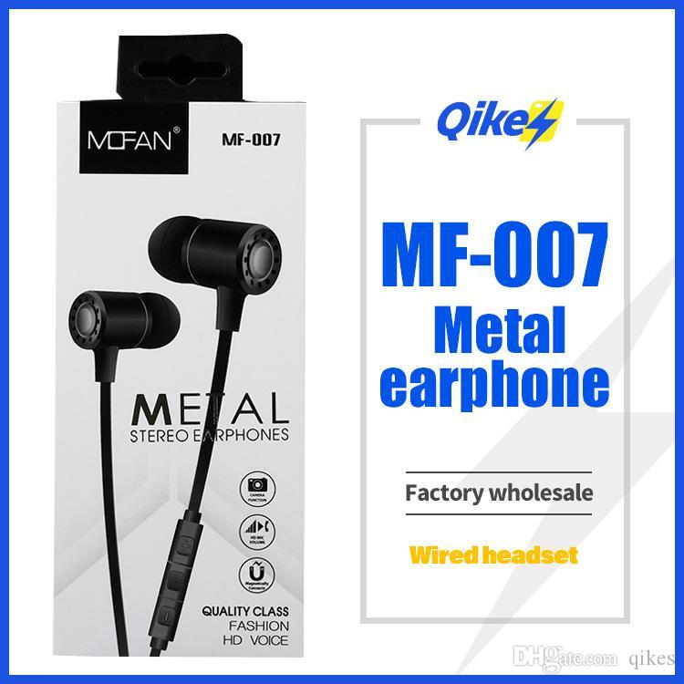 Mf007 3 5mm Wired Earphone With Mic Earbuds Headset Metal Earphone In Ear Earphone Heavy Bass Sound Anti Handsfree Earbuds With Microphone Best Bluetooth Earbuds Best Headphones Under 100 From Qikes 2 82 Dhgate Com